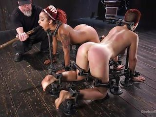 Порно бдсм двойной анал боль с неграми