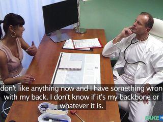 Жесткий секс с врачом